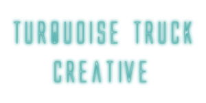 Turquoise Truck Creative